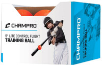 "Champro Lite Control Flight Ball 9"" Baseball/Softball Box 0f 12 Orange CBB95"