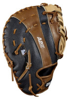 "Wilson A2K 2820SS Superskin Baseball Mitt First Base 12.25"" (Right Hand Throw)"