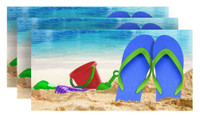 Sandals Fiber-Reaction Printed Beach Towel - 30 x 60 inches 3 PACK