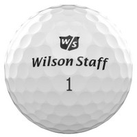 Wilson Staff Duo Pro Golf Balls Dozen 60 Compression Golfing White