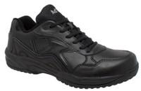 AdTec Men's Composite Toe Uniform Athletic Velcro Hospital Utility Black 9644