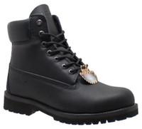 "AdTec Men's 6"" Steel Toe Work Boot Slip Resistant Padded Collar Black 9688"