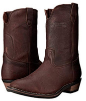"AdTec Men's 11"" Ranch Wellington Classic Western Boots Leather Redteak 1552"