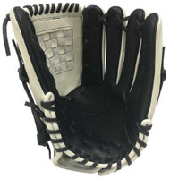 "Players Brand Pro 12"" Glove Mitt Fastpitch Softball Closed Web Phantom White RHT"