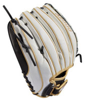 "Wilson Fastpitch Softball 12.5"" Glove Mitt Outfield A2000 Victory-Web 2019 LHT"