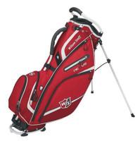 "Wilson Advisory Nexus III Golf Stand Bag 9.5"" Top Golfing Cart WGB5710RD (Red)"