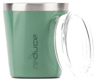 Reduce 10 oz. Low Ball Thermal Cocktail Tumbler Stainless Shatterproof Lid 10522