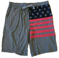 4th of July USA Flag Active Utility Shorts Boxer Brief Pajama Sleep ZJ541KGEN