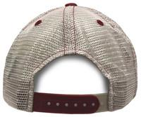 "Zephyr University of Alabama Lager ""A"" Crimson Role Tide Hat Ball Cap UA Mesh"
