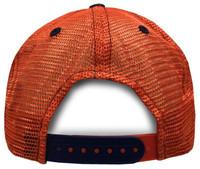 Zephyr Clemson University Lager Tigers Paw Hat Ball Cap South Carolina Mesh