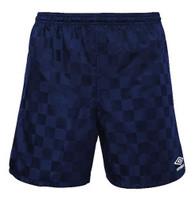 """Umbro Men's Classic Checkerboard Shorts Athletic 8"""" Inseam 4 Colors UUM1UA3X"""