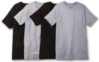 Hanes Men's CoolDri Crew Neck T-Shirt Undershirt Tee ComfortSoft 4-Pack 2165P4