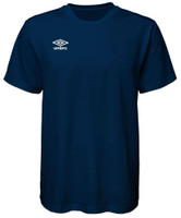 Umbro Center Short Sleeve Tee Athletic Performance Training T Shirt UUM1UAAS