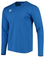 Umbro Center Long Sleeve Tee Athletic Performance Training 4 Colors UUM1UAGU