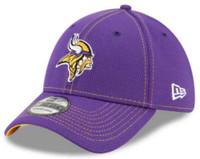 New Era Men's Minnesota Vikings Cap Hat Sideline Road NFL Football 100 Season