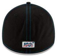 New Era Men's Carolina Panthers Cap Hat Sideline Road NFL Football 100 Season