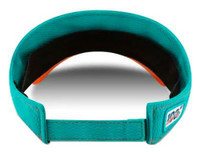 New Era 2019 NFL Miami Dolphins Visor Hat Cap ONF19 On Field Florida FL 12050517