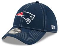 New Era Men's New England Patriots Cap Hat Sideline Road NFL Football 100 Season