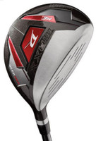 Wilson Mens Deep Red Maxx Titanium Matrix #3 Fairway Wood Golf Clubs Right Hand
