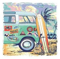 Tervis 16 oz Surfboard Margaritaville Tumbler Mug Travel Cup w Lid Dishwash Safe