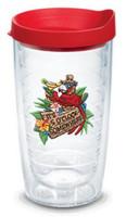 Tervis 16 oz 5 O'Clock Somewhere Tumbler Mug Travel Cup w/ Lid Dishwash Safe USA