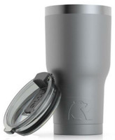 RTIC 20 oz Thermal Tumbler Stainless Steel Coffee Mug Travel Cup Matte Graphite