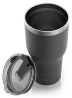 RTIC 20 oz Thermal Tumbler Stainless Steel Coffee Mug Travel Cup (Matte Black)