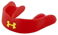 Under Armour UA Soccer Strapless Low Profile Mouthguard Upper (Adult Red)