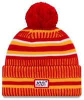 New Era 2019 NFL Kansas City Chiefs Cuff Knit Hat Home OTC Beanie Stocking Cap