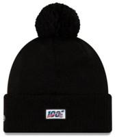 New Era 2019 NFL Baltimore Ravens Cuff Knit Hat Road OTC Beanie Stocking Cap Pom