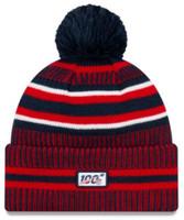 New Era 2019 NFL New England Patriots Cuff Knit Hat Home OTC Beanie Stocking Cap