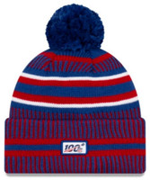 New Era 2019 NFL New York Giants Cuff Knit Hat Home OTC Beanie Stocking Cap Pom