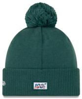New Era 2019 NFL Philadelphia Eagles Cuff Knit Hat Road Beanie Stocking Cap Pom