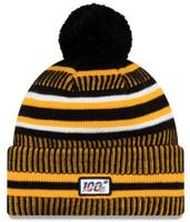 New Era 2019 NFL Pittsburgh Steelers Cuff Knit Hat Home OTC Beanie Stocking Cap