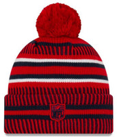 New Era 2019 NFL New England Patriots Cuff Knit Hat REV Home Beanie Stocking Cap