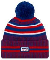 New Era 2019 NFL Buffalo Bills Cuff Knit Hat Home OTC Beanie Stocking Cap Pom