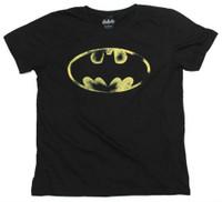 Batman Men's Tee T-Shirt Super Hero DC Comics Marvel Justice League BatmanFaded