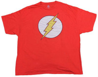 The Flash Men's Tee T-Shirt Super Hero DC Comics Marvel Justice League Red Flash