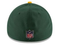 New Era Green Bay Packers Baseball Cap Hat NFL 2017 Sideline 39Thirty 11462133