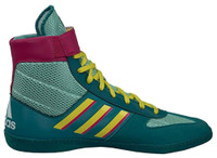 Adidas Men's Combat Speed .5 Wrestling Mat Shoe Ankle Strap Aqua/Pink