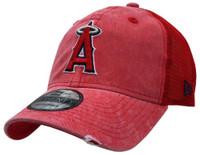 New Era 2019 MLB Anaheim Angels Baseball Cap Hat Tonal Washed 9Twenty Adjust