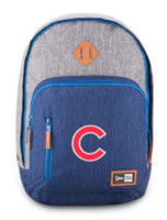 New Era Chicago Cubs Cram Action Backpack MLB Baseball Team Laptop Slot Cubbies