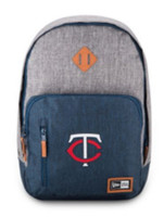New Era Minnesota Twins Cram Action Backpack MLB Baseball Team Laptop Slot MSP