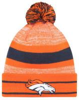 New Era 2019 NFL Denver Broncos Cuff Pom Knit Hat Beanie Stocking Winter Skull