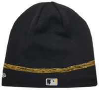 New Era MLB Pittsburgh Pirates Clubhouse Stocking Knit Hat Beanie Skull Cap