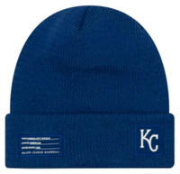 New Era MLB Kansas City Royals Sport Stocking Knit Hat Beanie Cuffed Skull Cap