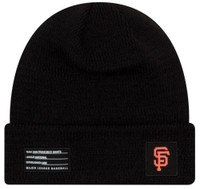 New Era MLB San Francisco Giants Sport Stocking Knit Hat Beanie Cuff Skull Cap