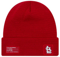 New Era MLB St Louis Cardinals Sport Stocking Knit Hat Beanie Cuff Skull Cap