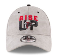 New Era NFL Atlanta Falcons Baseball Hat Cap Spotlight 920 9Twenty Faux Suede