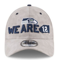 New Era NFL Seattle SeaHawks Baseball Hat Cap Spotlight 920 9Twenty Faux Suede